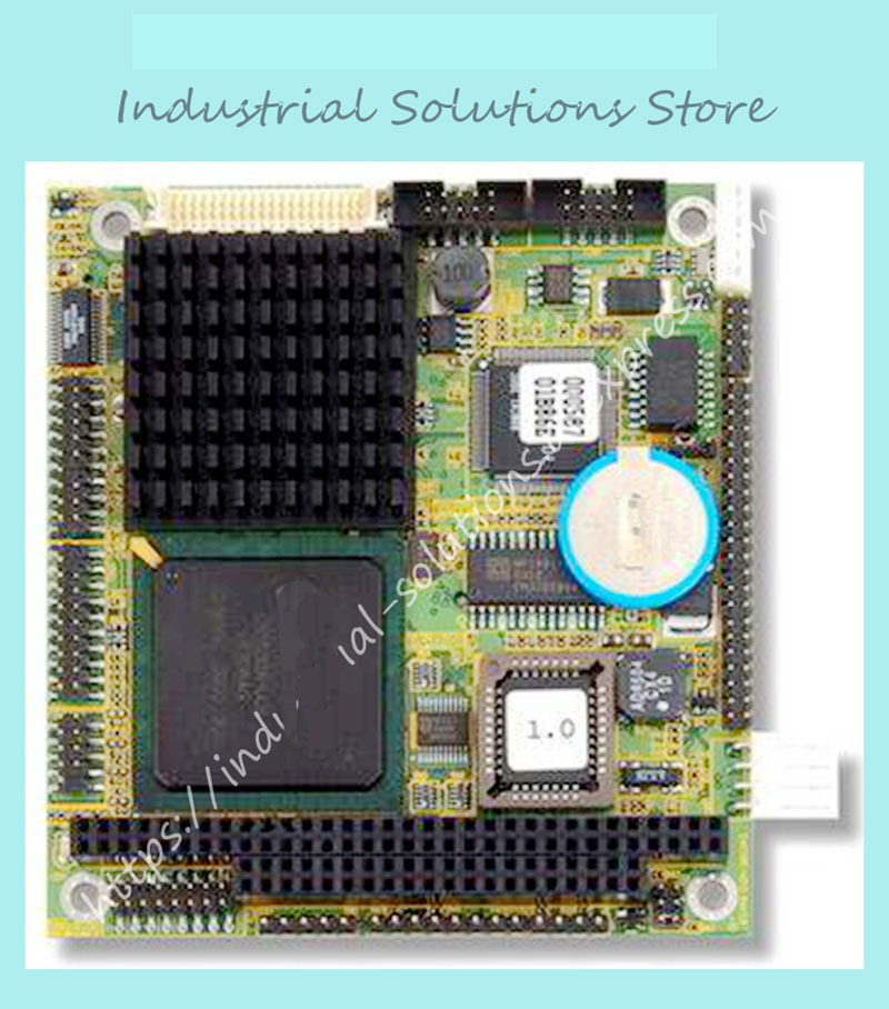 EM104-N513 PC 104 low Power Embedded Fanless Industrial Motherboard GX1 100% tested perfect quality industrial floor picmg1 0 13 slot pca 6113p4r 0c2e 610 computer case 100% tested perfect quality