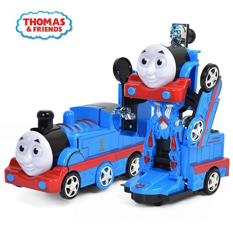 Thomas And Friends Diecasts Toy Vehicles Car Toy Electric Deformation Small Train Music Children's Educational Toy For Children
