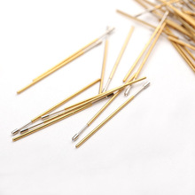 Spring Test Probe 100PCS / package  PL75-A Spring Test Tool DIY Manual Inspection Electronic Tool Total Length Approx 33.35mm infrared reversing distance indicator electronic contest package electronic skills assessment distribution test