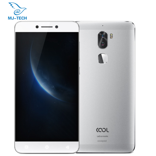 "bilder für Original coolpad Kühle 1 Dual 3G 32 Leeco Coolpad Cool1 Snapdragon 652 5,5 ""FHD 13MP Dual Kameras Fingerprint ID Smart handy"