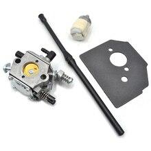 Carburetor Carb Gasket Fuel Filter Hose Line Kit For 45CC 52CC 58CC 4500 5200 5800 Petrol
