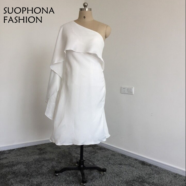 White Short Party Dresses 2018