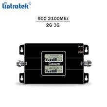 Lintratek 900 2100 2 г 3g GSM репитер 900 2100 усилитель сигнала 2 г/3g мобильный телефон сигнал усилительсигнала GSM WCDMA KW17L-GW #6,6