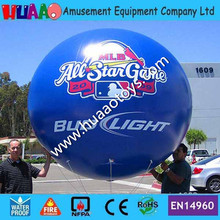 2.5 Giant PVC Inflatable Balloon sky balloon helium balloon(free logo)