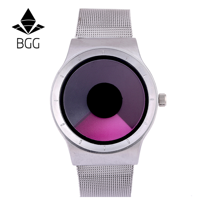 2017 New Creative Stainless Steel Mesh Strap Men's Sport Watches Men's Watches Quartz Wrist Watch Fashion Casual Men's Watch 2016 new ladies fashion watches decorative grape no word design gold watch stainless steel women casual wrist watch fd0107