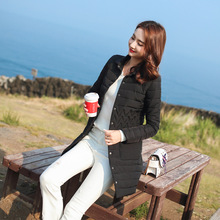 Fashion Winter coat women showing the perfect figure of womens body Korean version slim slimming cotton jacket