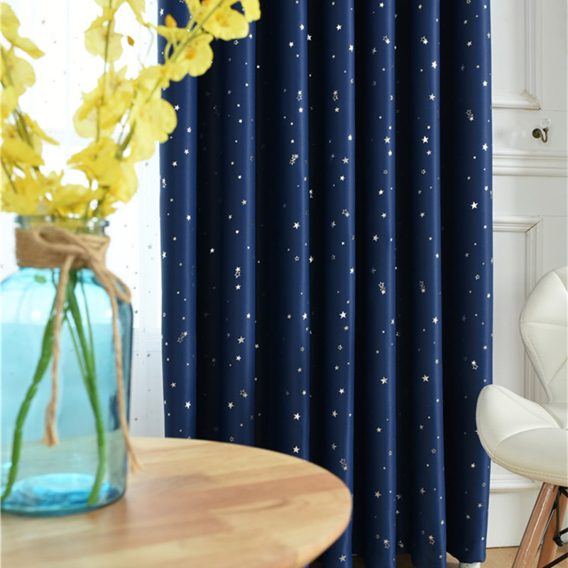 Curtain For Balcony: XYZLS Qualified Lucky Stars Blinds Cotinas Blackout
