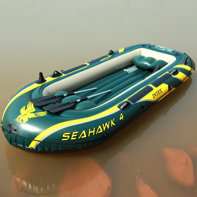 Intex68351 seahawks ship rubber boat inflatable boat fishing boat inflatable motor