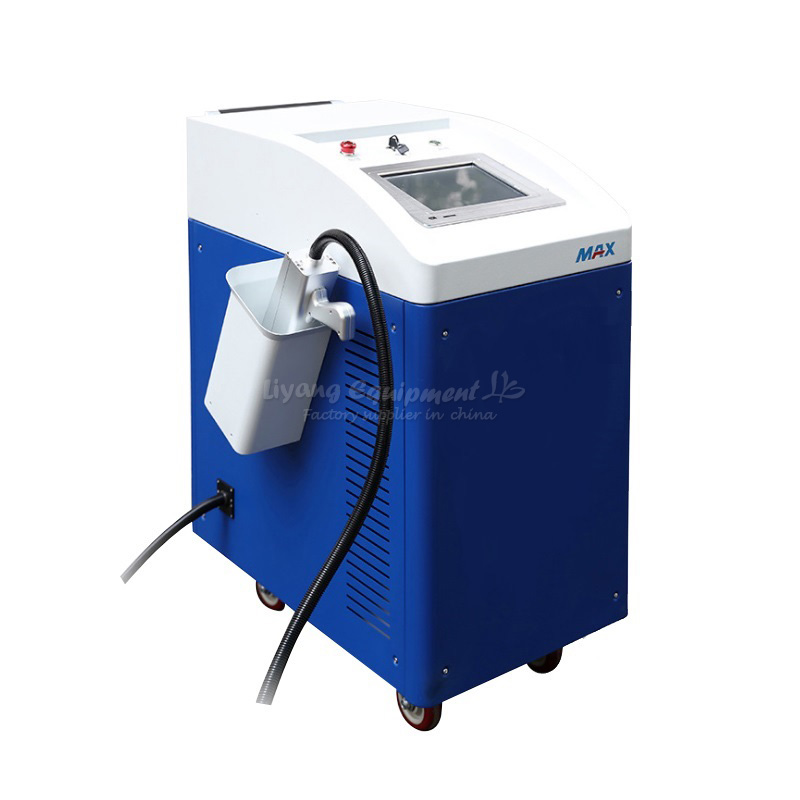 LY Laser non-contact descaling rust removing clearning machine 100W 200W for optional