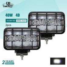 CO LIGHT 1 Pair Led Light Beam Offroad 40W 4D Led Work Light 12V Spot 4X4