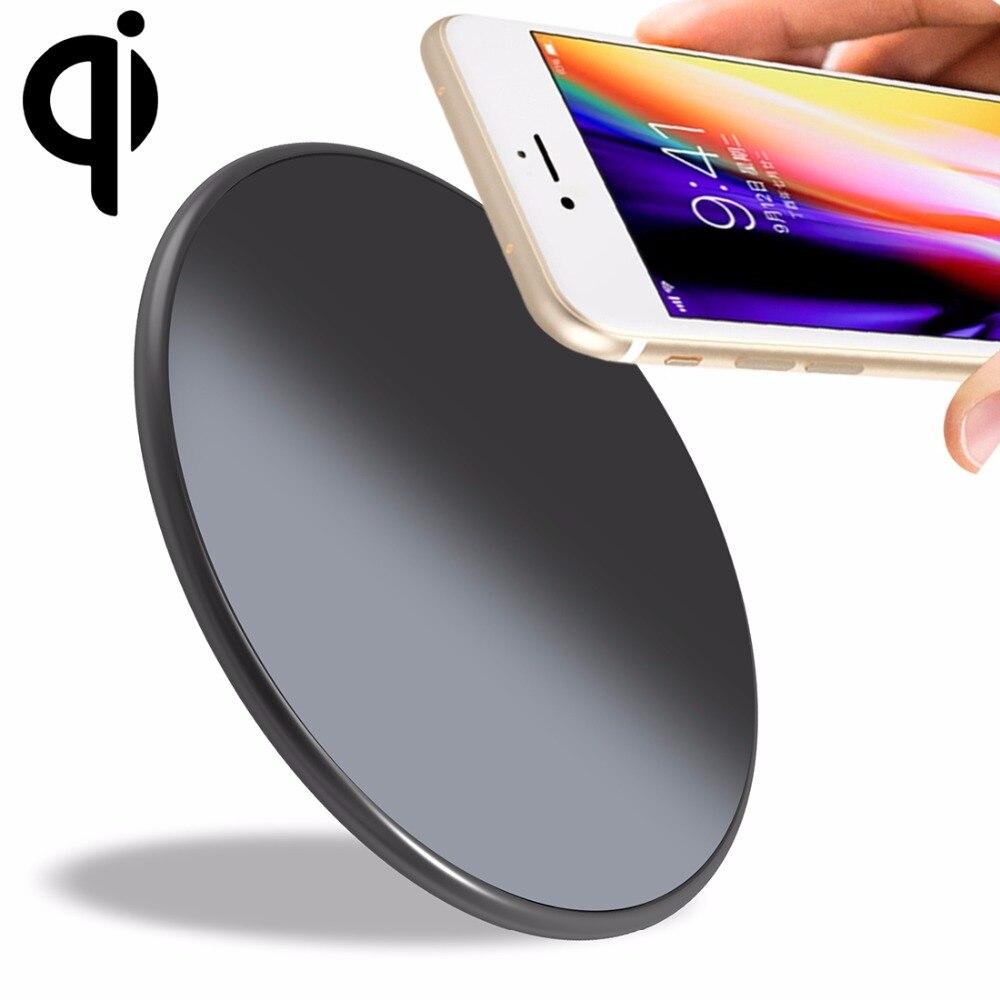 UMIDIGI Q1 10 watt Schnelle Lade Qi Drahtlose Ladegerät Pad Drahtlose Ladegerät Für UMIDIGI Z2 Pro/Andere Smartphones