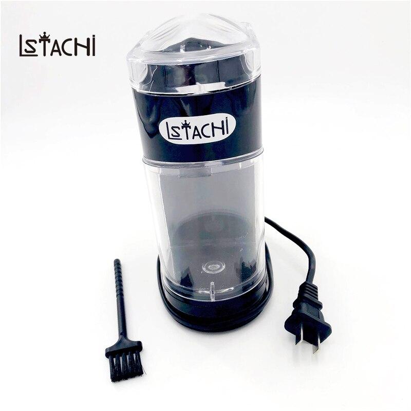 LSTACHi ménage électrique moulin à café en acier inoxydable lame moulin à café café en grains épices fabricant automatique moulin à café