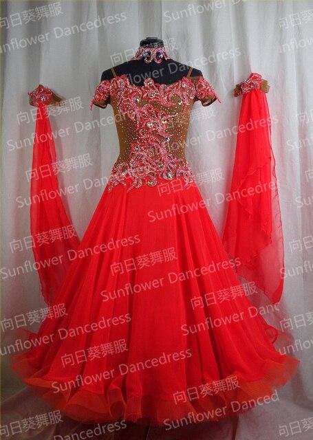 9835a5802fe7 Top sales New Style!ballroom Standard Dance Dress,Waltz Competition Dress ,Women,