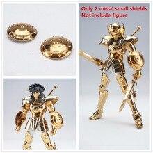 เซนต์เซย์ผ้าตำนาน2โลหะขนาดเล็กโล่สำหรับBandai OCEราศีตุลEXทองD Ohko Shiryu S008