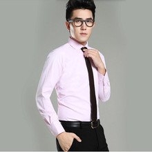 Hot sale formal shirt men shirt long sle