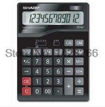 Genuine Sharp calculator CH-612 office computer 12 solar large display