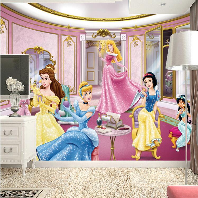 Baby Wallpapers Boys BedroomCartoon Photo Wallpaper for Walls in Rolls in a Princesss Nursery Mural Wall Paper Children's Room shinehome sunflower bloom retro wallpaper for 3d rooms walls wallpapers for 3 d living room home wall paper murals mural roll