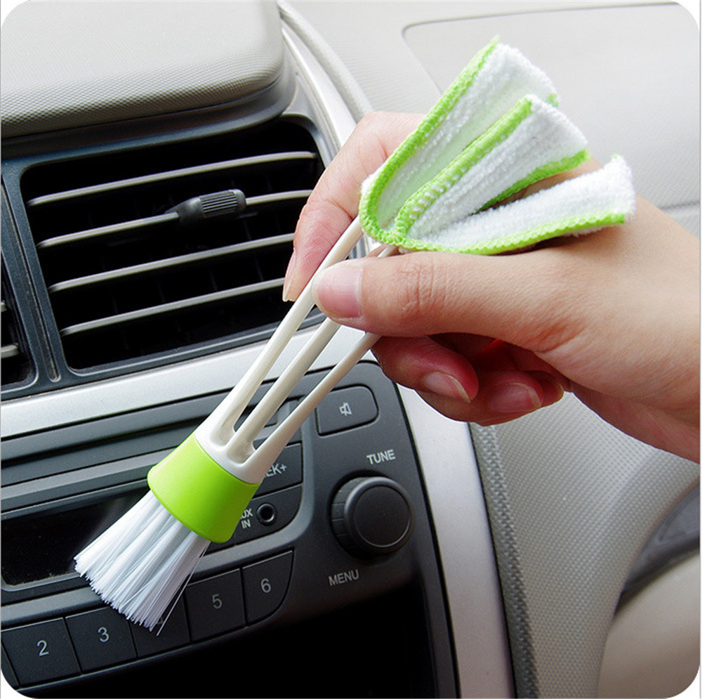 Image 2 - FOURETAW Home Use Type Cleaning Brush Convenient Glass Floor BBQ Toilet Keyboard Cleaner A Good Helper Washing Car Windowsill-in Cleaning Brushes from Home & Garden