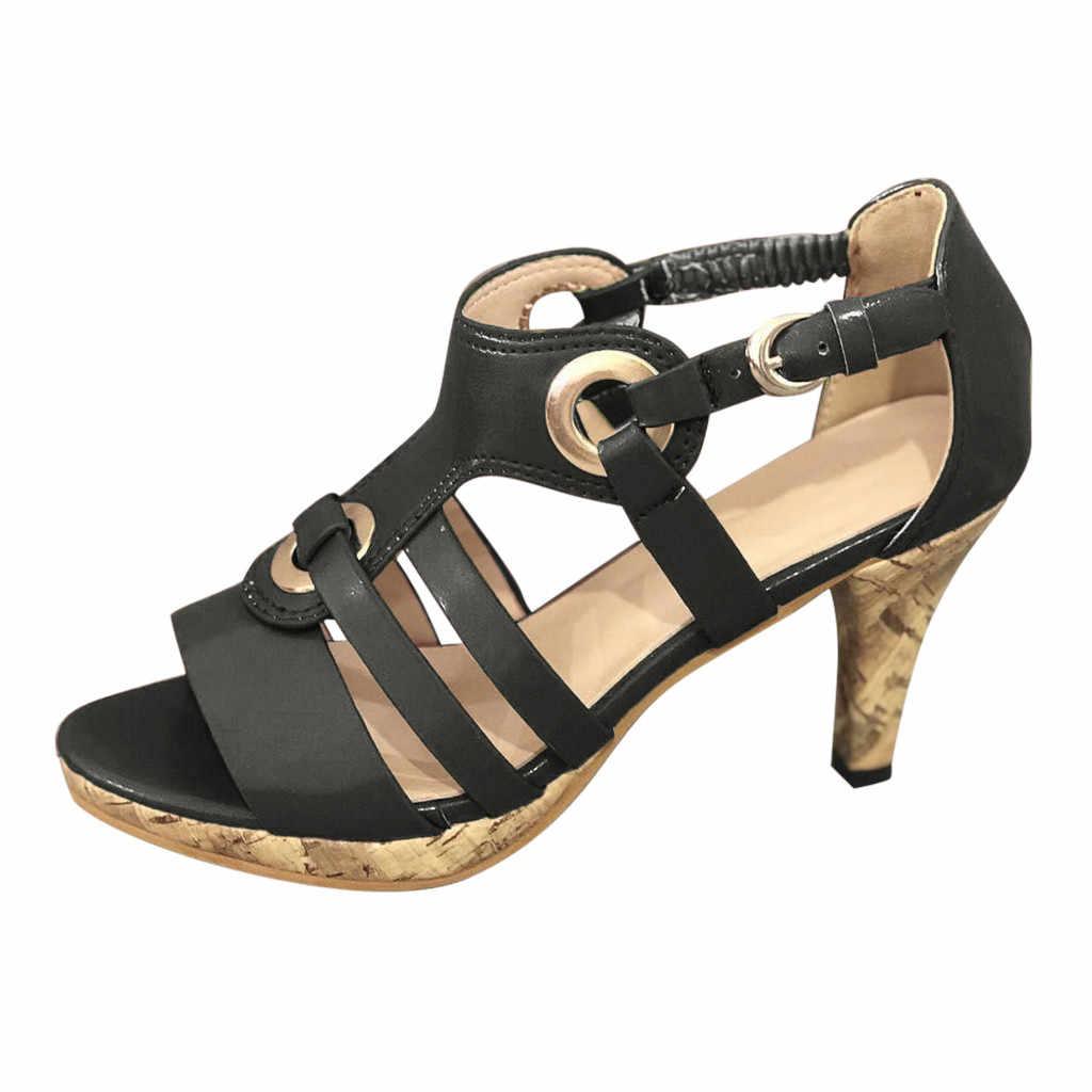 Nieuwe PVC Vrouwen Platform Sandalen Super Hoge Hakken Waterdichte Vrouwelijke Transparant Kristal Bruiloft Schoenen Sandalia Feminina Plus 43 # N3