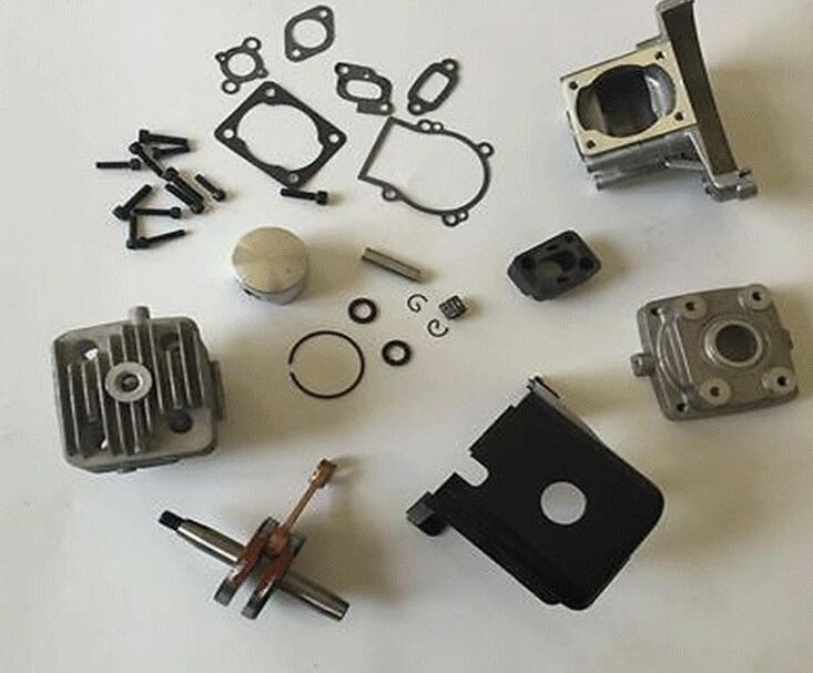 35cc engineer update kit 38mm fit 26cc 29cc 30.5CC Zenoah for baja Losi 5T FG