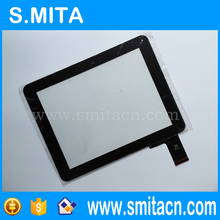 "9,7 ""Tablet PC Touchscreen-panel Glas Sensor Objektiv Reparatur Ersatz QSD E-C97011-04 schwarz farbe 239×184,5mm 50pin Kapazität"