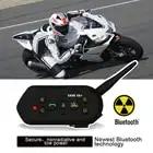 Motorcycle Helmet Headsets Locomotive Hands free Wireless Bluetooth Helmet Earphone Mp3 Walkie Talkie Easy Operation Waterproof - 1
