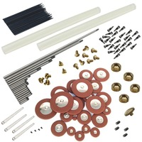 TOKKY Alto Saxophone Maintenance Tool Complete Parts A Spring screws Repair Accessories for Woodwind Instrument DIY enthusiasts