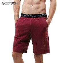 Летние мужские хлопковые Пижамные штаны размера плюс, Короткие штаны для отдыха, шорты для сна, Повседневная Пижама, одежда для сна, шорты Боксеры 5002