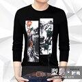 Suéter de Lana de alta Calidad de Marca para Hombre 2017 de la Cachemira Del O-cuello Para Hombre Suéteres Pullover Hombres Tirón Ocasional Camisa