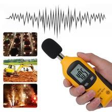 HT-80A мини портативный размер измеритель уровня звука ЖК-цифровой дисплей шумомер шум децибельный монитор тестер давления