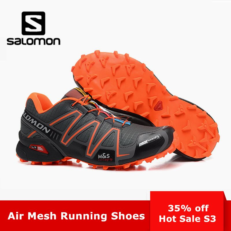 10096eafee6f Salomon Speedcross 3 CS Zapatillas Running Sport Men Outdoor Shoes  Breathable Zapatillas Hombre Mujer Male Speed ...