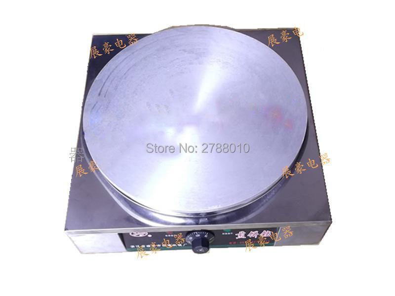 Электрический блин машина автоматическая сковорода термостат Нержавеющаясталь блин сковороды машина 20 Тип