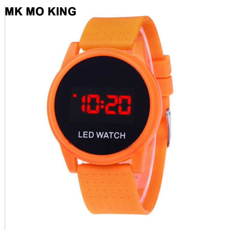 Couple Watches LED Touch Fashion Sports Women's Clock Casual Silicone Men's Analog Digital Military Bracelet Montre Reloj
