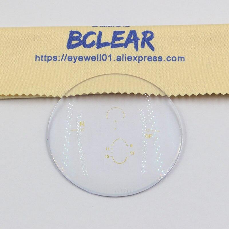 BCLEAR 1.56 Index livraison forme Multifcoal Progressiste Intérieur Lunettes Lentilles Ordonnance Voir Loin Longue et Voir Près de Visions - 4