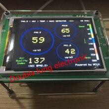 Бытовой детектор мониторинга качества воздуха PM2.5 пыли дымка PM2.5 измерительный датчик TFT LCD (G3/M3 концентрации версия)