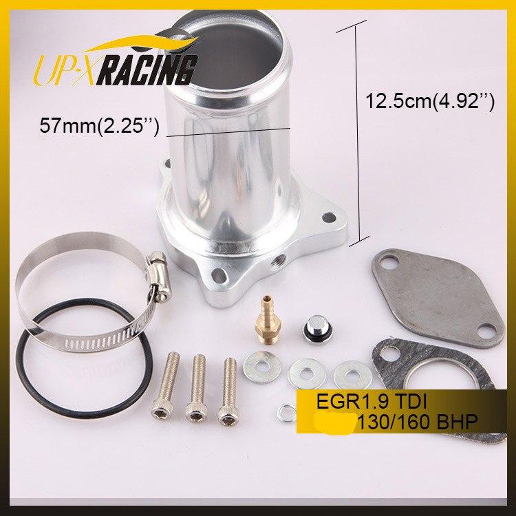 En gros 57mm Vanne egr VW TDI 1.9 Performance EGR Supprimer Course Tuyau 1.9 TDI 130/160 CH Diesel valve
