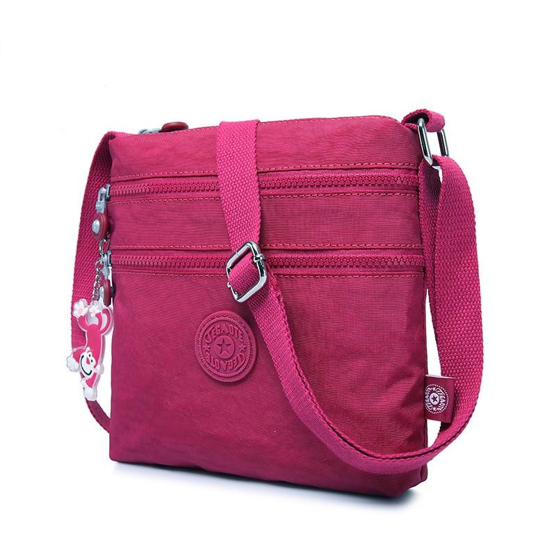 Luxury Women Messenger Bag Famous Brands Nylon Shoulder Bag Ladies Bolsa Feminina Waterproof Travel Bag Women's Crossbody Bag