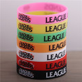 2017 new good quality luminous LOL plastic leather  wristband bracelet  llaveros for men  pulseiras de couro braclet men