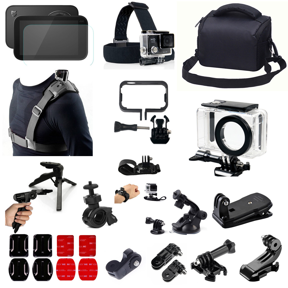 Waterproof Camera Accessories Kit for Xiaomi Mijia 4K Mini Camera Multi in 1 fitting for Diving