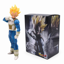 цена на 19cm Dragon Ball Z Vegeta Action Figure PVC Collection Model Toys Brinquedos For Kids Christmas Gift With Box One Piece