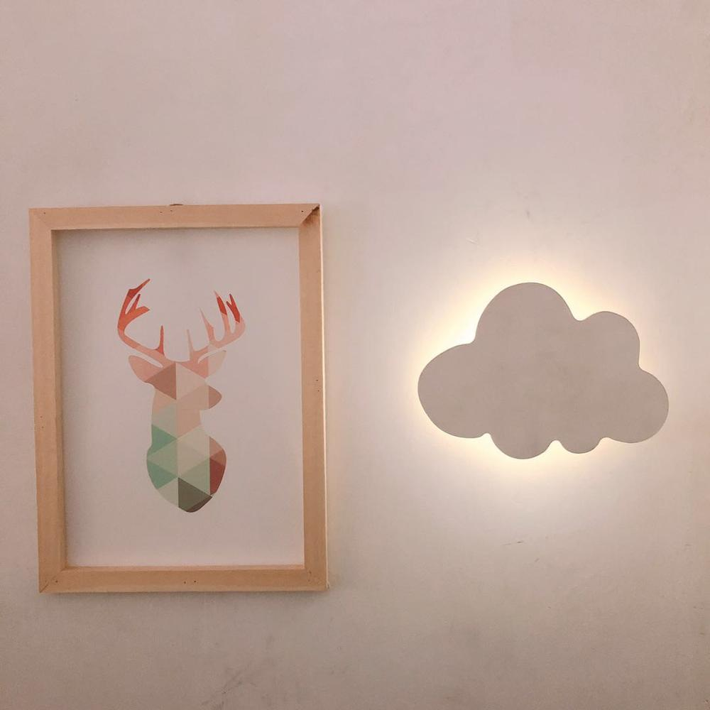Nordic Style Cloud Wall Lamp Lights