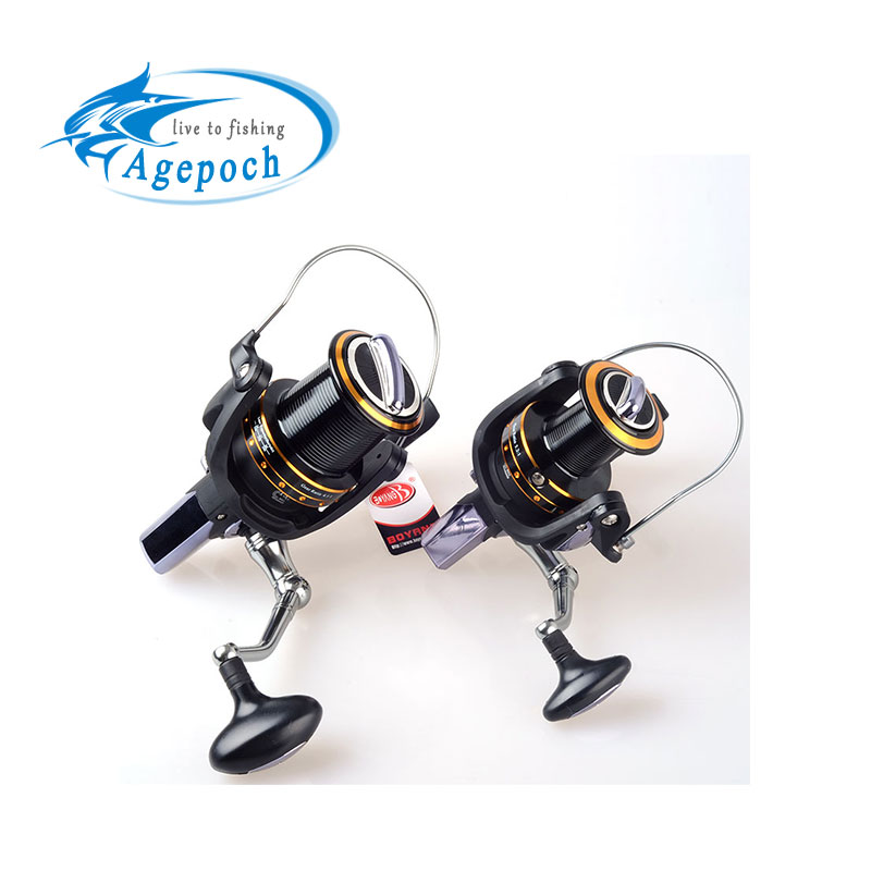 Agepoch 13 1 bb spinning spin drag long shot big game worm for Reel fishing game