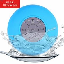 Mini Wireless Bluetooth Speaker Portable Waterproof Shower Speakers for Cell Phone MP3 Receiver Hand Free Car