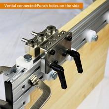 3 In 1 Punch locator Hole Brilling Locator Furniture Diy Tool