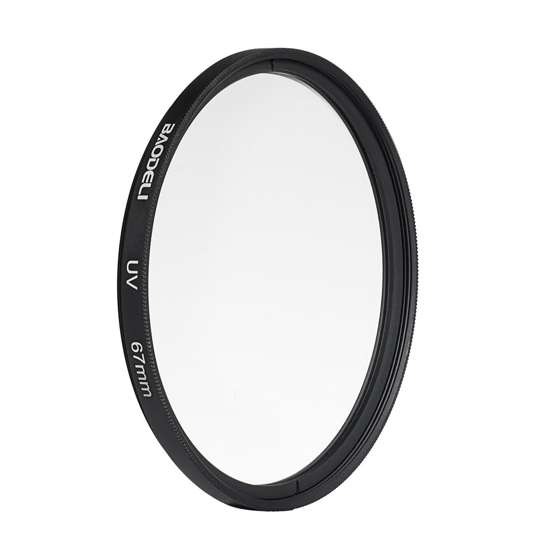 72 BAODELI DSLR Camera Lens Filtro UV Filter 49mm 37mm 40.5 43 46 52 55mm 58mm 62 72 77mm 82 mm For Nikon D3500 Canon Sony A6000 (3)