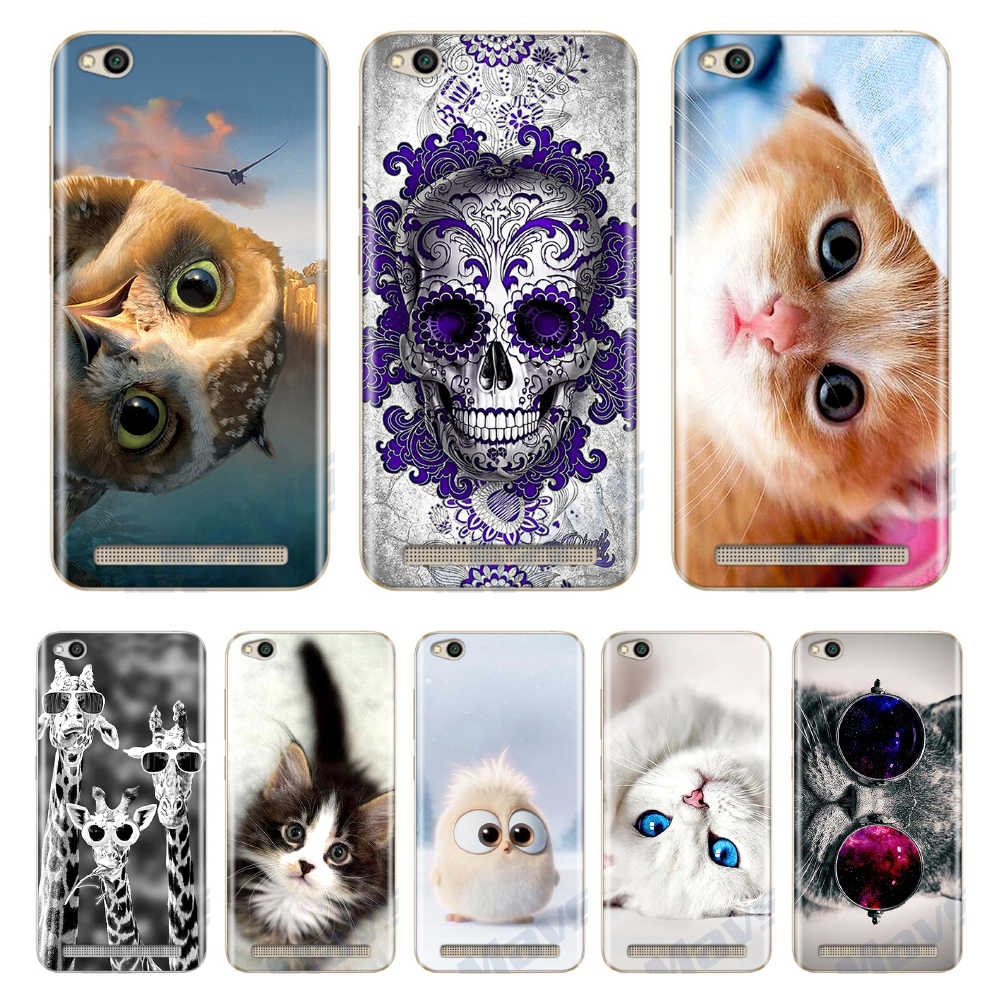 "For Xiaomi Redmi 5A 5.0"" Case Cover Soft Silicone Cases For Xiomi Xiaomi Redmi 6A 5A A5 Phone Case Cover Redmi 5A Redmi4A Funda"