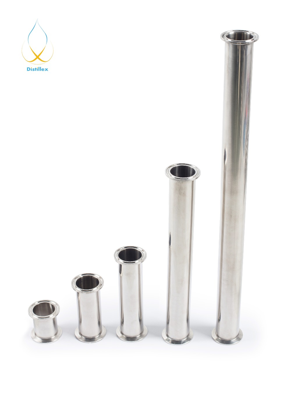 "3"" 76mm (OD 91mm)  Sanitary Steel 304 Spool Pipe L=500mm (20"")"