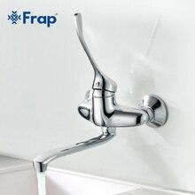Ванная комната хоботок кран горячей и холодной краны медицинский кран длинной ручкой F4654