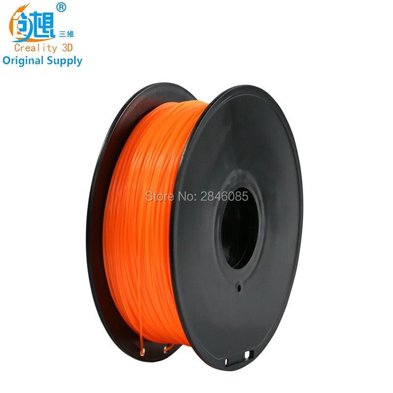 2017 White Color Cheap CREALITY 3D 3D Filament PLA 1 75mm 3D Printer Filament Materials for