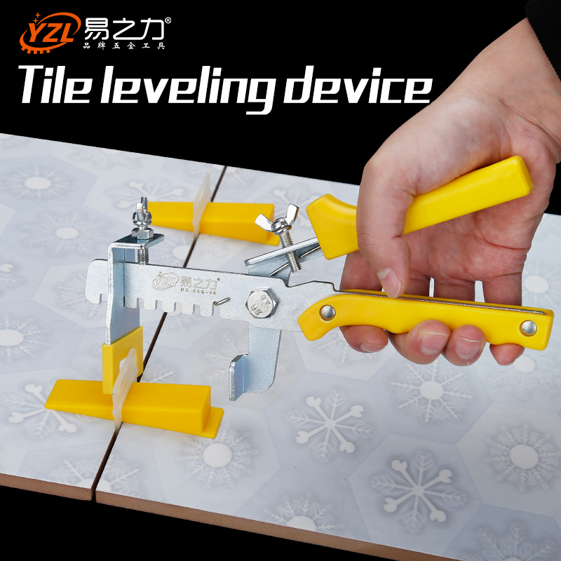 Hand tool pliers Floor Pliers Tile Locator Leveling System Tiling Installation Tool 201pcs 2mm tile leveling system kit 100 wedges 100 clips plier tiling spacer floor raimondi tiling locator installation tool